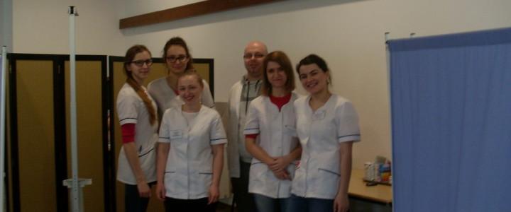 Obóz naukowy studentów kierunku Pielęgniarstwo Uniwersytetu Medycznego w Lublinie zorganizowany w ramach projektu