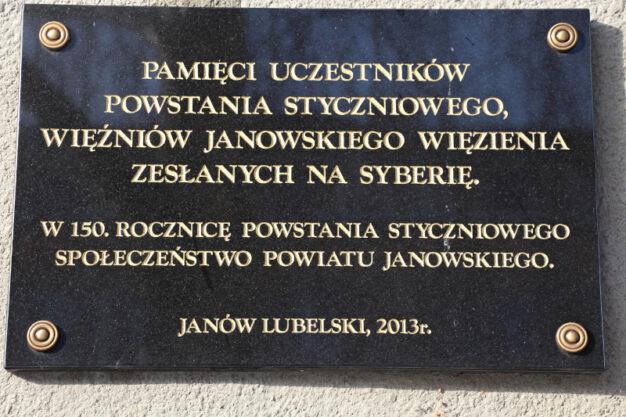 Powstanie Styczniowe w Janowskiem