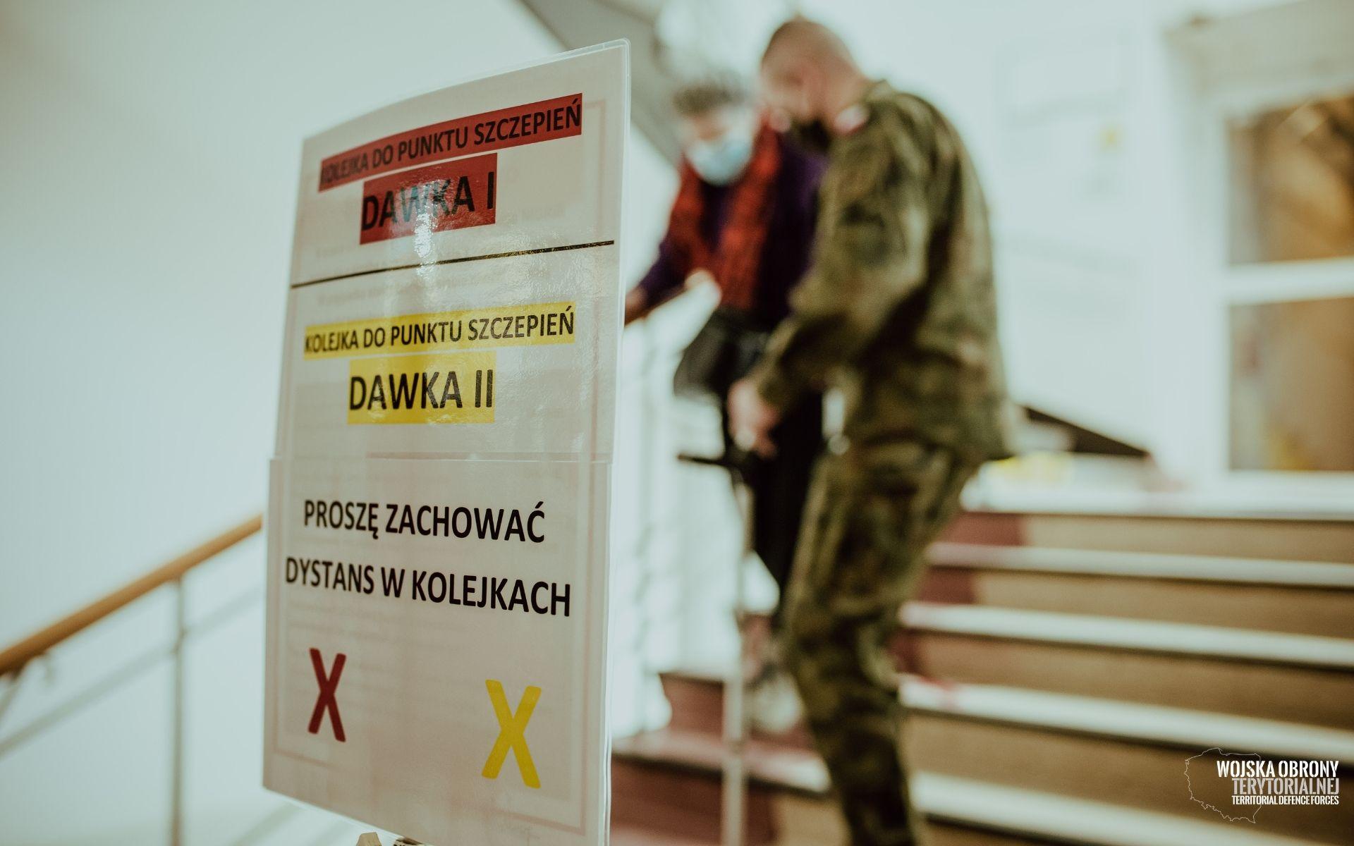 Terytorialsi wspierają Narodowy Program Szczepień