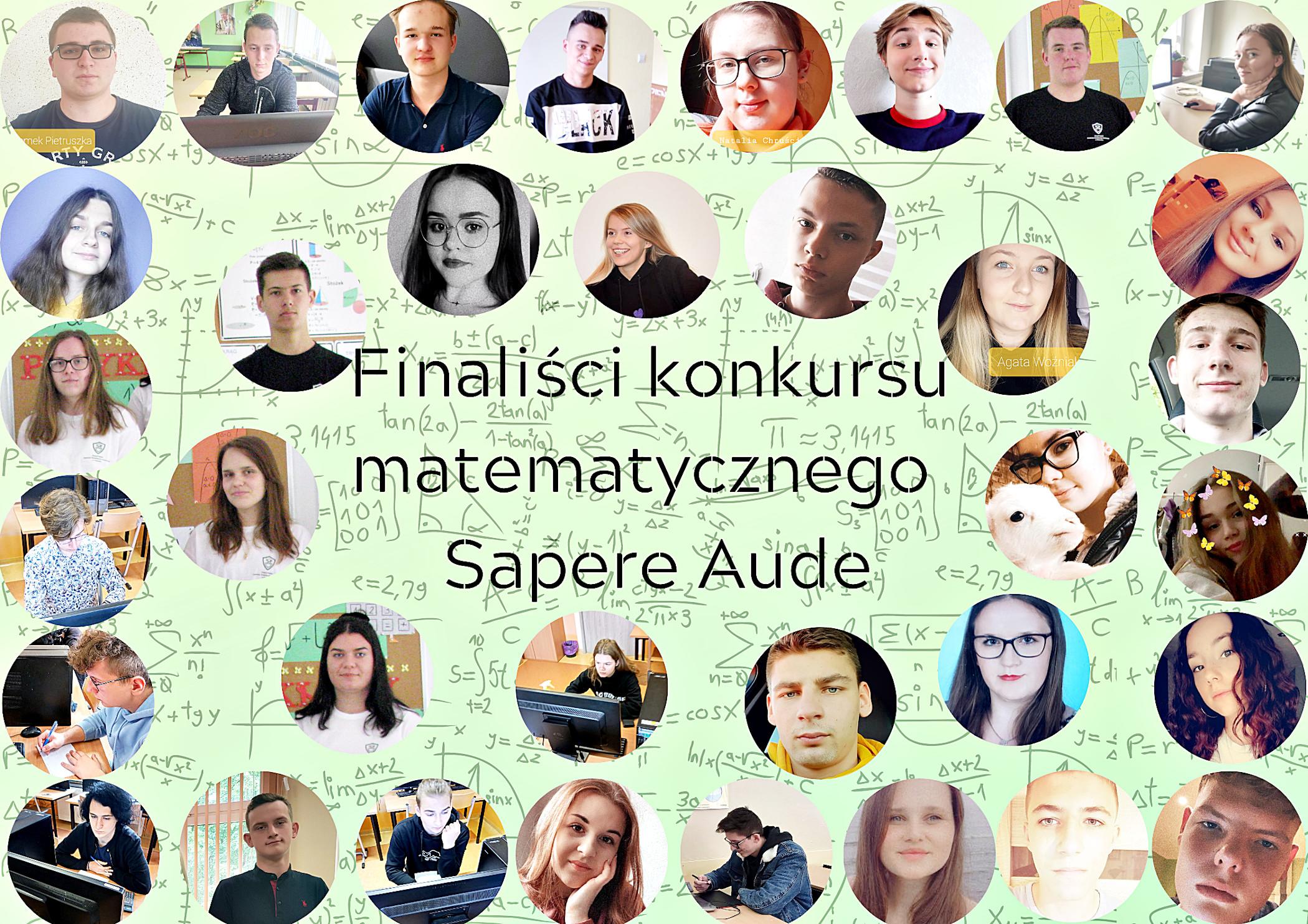 Uczniowie ZS CKR w Potoczku finalistami ogólnopolskiego konkursu matematycznego