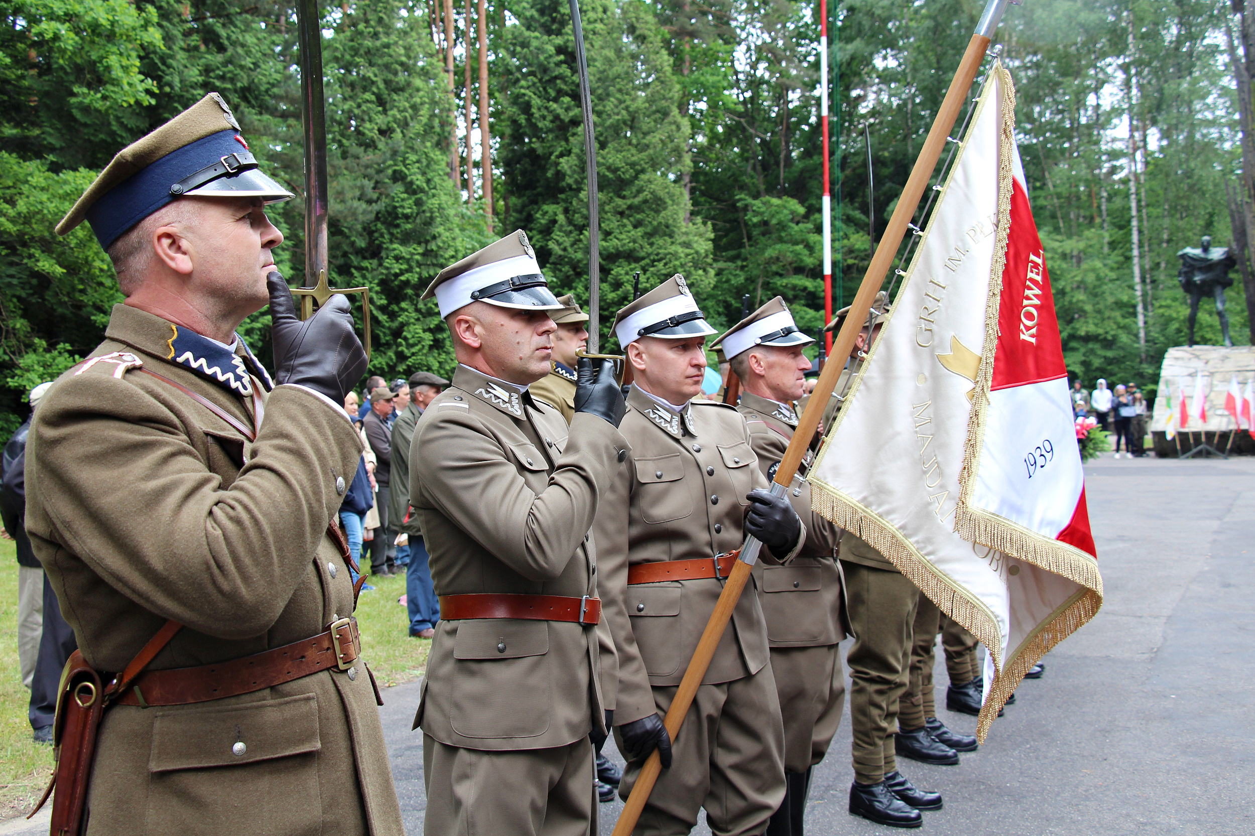 W 77. rocznicę Bitwy Partyzanckiej na Porytowym Wgórzu – fotogaleria cz. 1