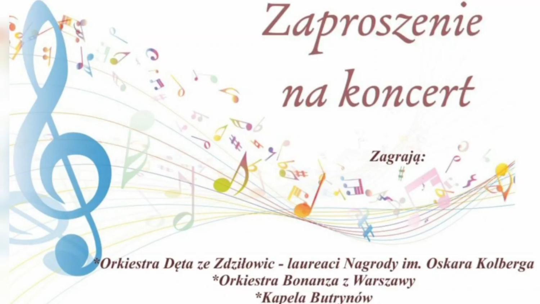 Koncert Orkiestry Dętej w Zdziłowicach