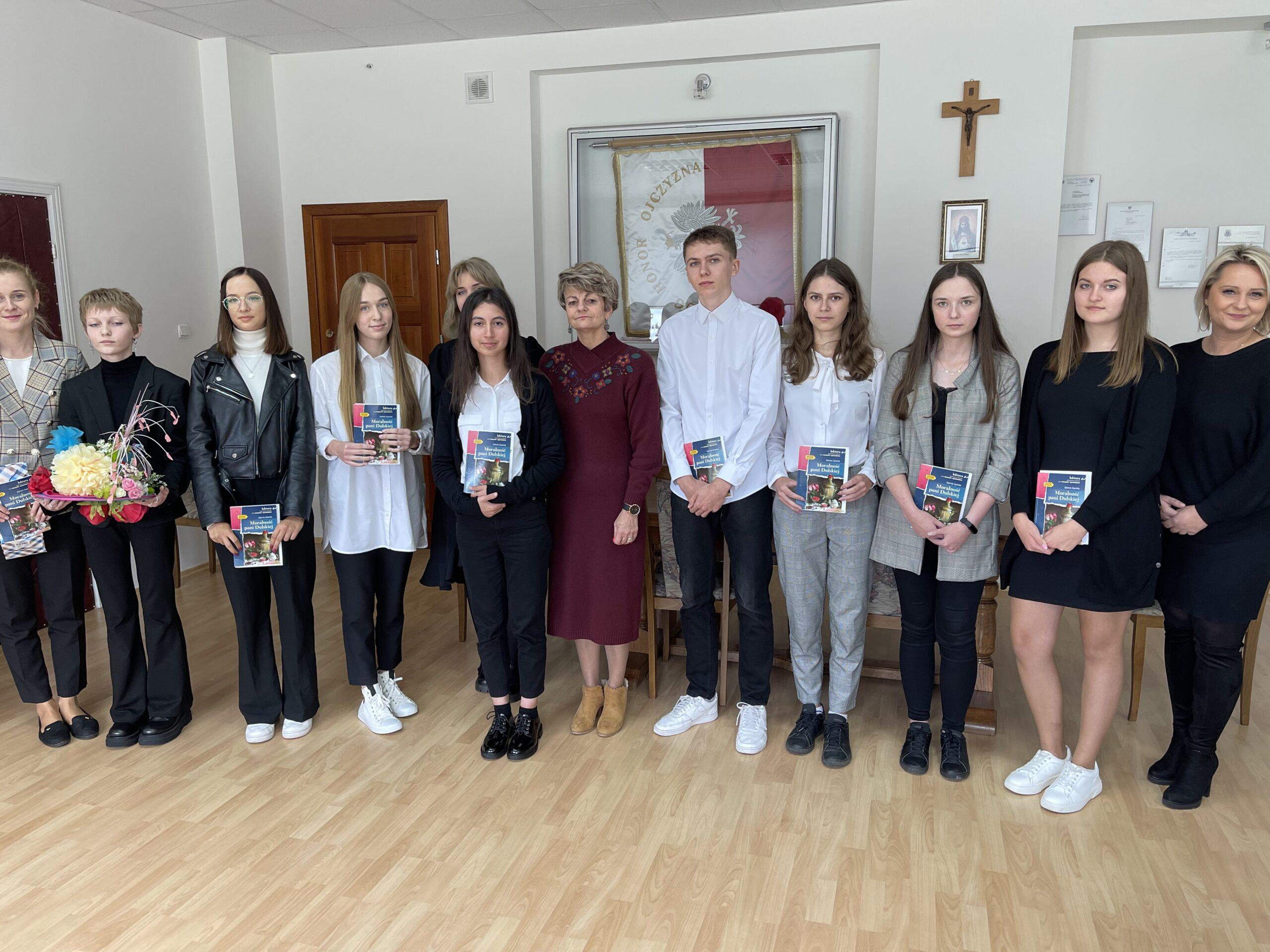 Narodowe Czytanie w I Liceum Ogólnokształcącym im. Bohaterów  Porytowego Wzgórza w Janowie Lubelskim